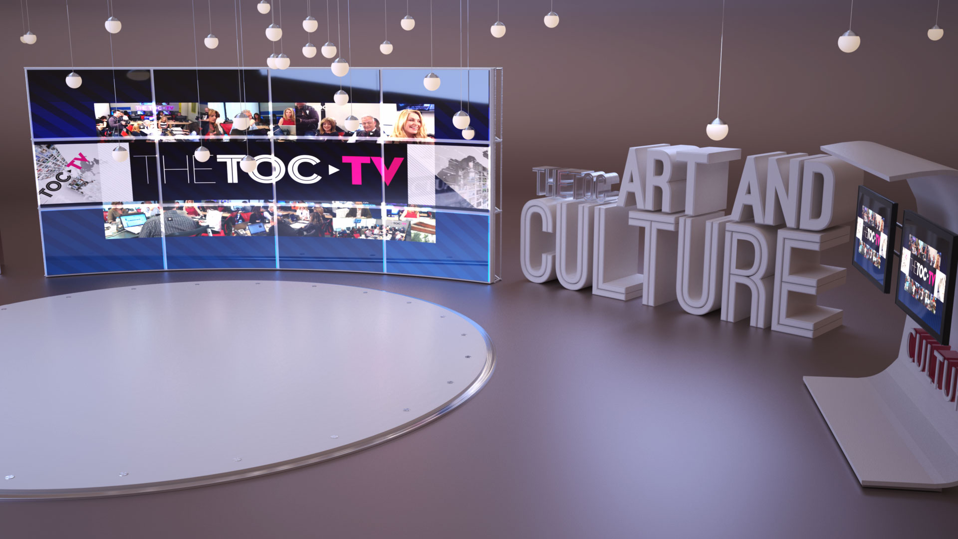 HD Virtual Set and Studio
